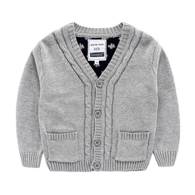 Los bebés Varones Suéter Cardigan Nueva Otoño Niños Bobo Choses Suéteres de Punto Suéter Jumper de Punto de Algodón Para Niños Niñas Bebé Ropa