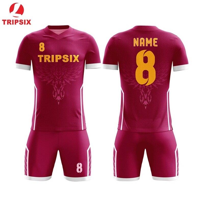 Ster Patroon Sublimatie Persoonlijke Naam En Nummer Voetbal Jersey - 2