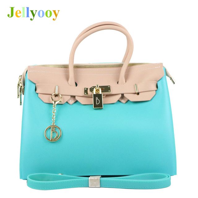 48658b715d9 Hit Color Jelly Platinum Bag for Women Luxury Brand Locks Shoulder Bags  Famous Designer Female Quality Tote Bags Channels gg Bag