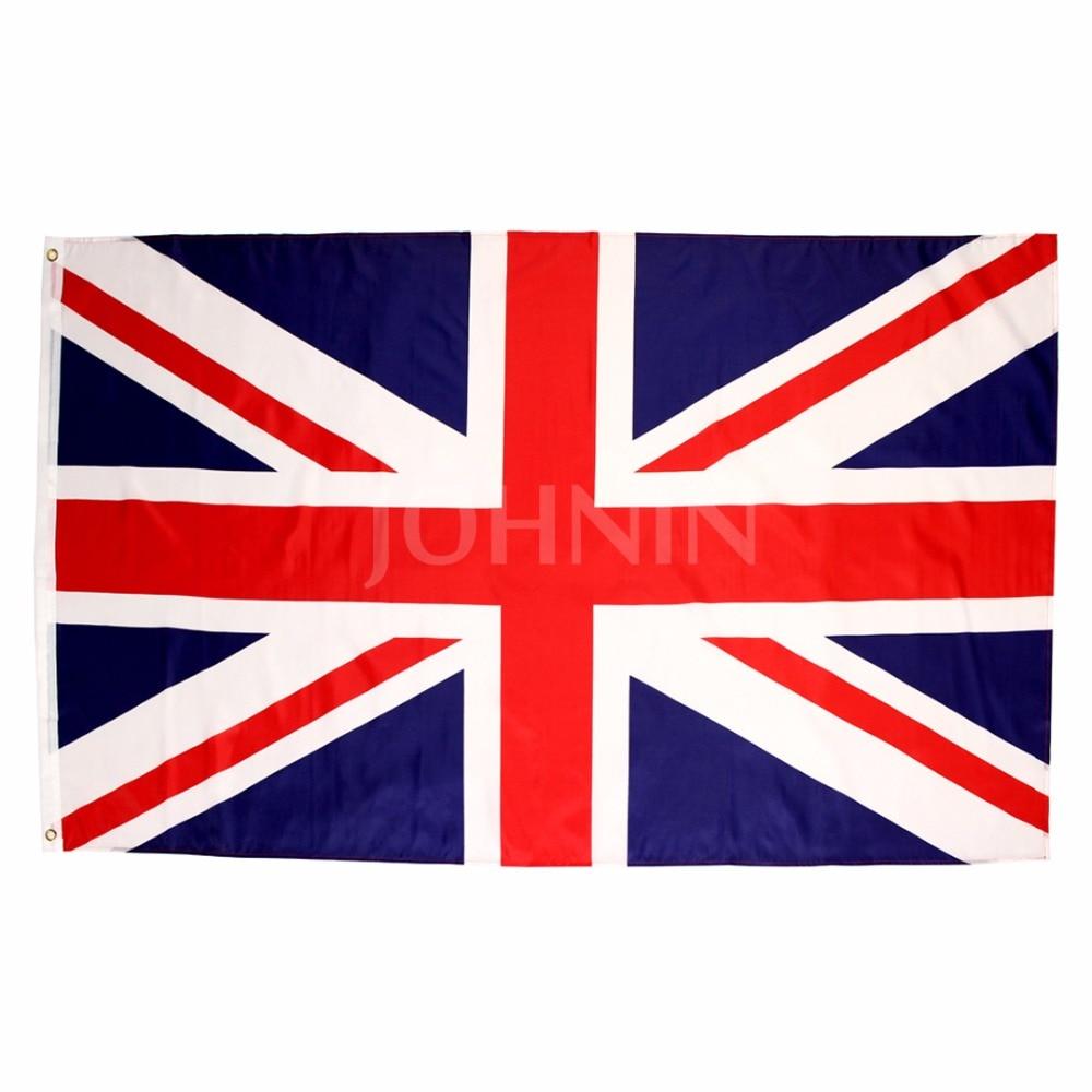 Johnin  90*150cm England Scotland Northern Ireland Lion Rampant Great Bratain GB United Kingdom Uk National Flag