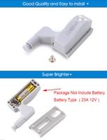 10 шт. naierdi универсальный доли светодиодный датчик свет кухня span Got шкаф 0.25 вт внутренний свет