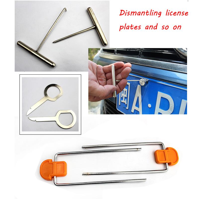 Door dismantling tools 12 sets6