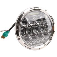 Universal 7 Inch 75W Round LED Projector Headlight Bulb for Motor Motorcycle and LED Headlamp