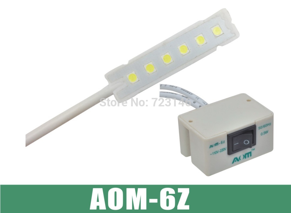 AOM-6Z industrial sewing machine LED light,industrial sewing machine LED bulb table light for Brother Siruba Typical juki