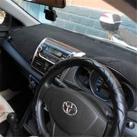 Car Dashboard Covers Instrument Platform Pad Fits Toyota VIOS 2014 2015 2008 2013 2007 2011