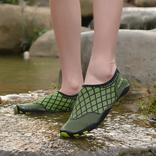 Water Shoes Women Summer Outdoor Hiking Aqua Sneakers Men Sport Breathable Stretch Fabric 35-46