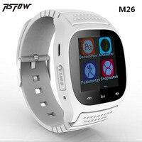 RsFow M26 Impermeable Elegante Androide del Reloj Mujer Hombre Bluetooth Llamada Sync Smartwatch Podómetro Anti-perdida Para El teléfono Android