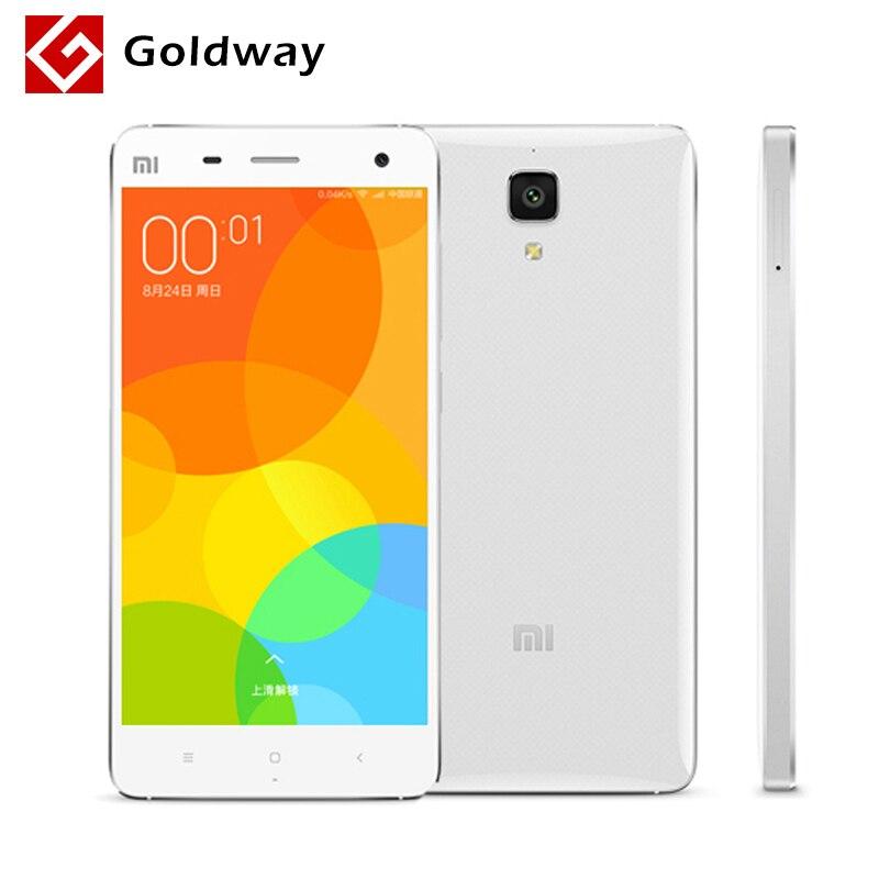 "bilder für Original Xiaomi Mi4 M4 3G WCDMA Handy 5,0 ""FHD 1920*1080 P Bildschirm Snapdragon801 Quad Core 3 GB RAM 16 GB ROM 13MP Kamera"