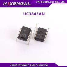 10PCS UC3843AN UC3843A DIP8 DIP UC3843 new original