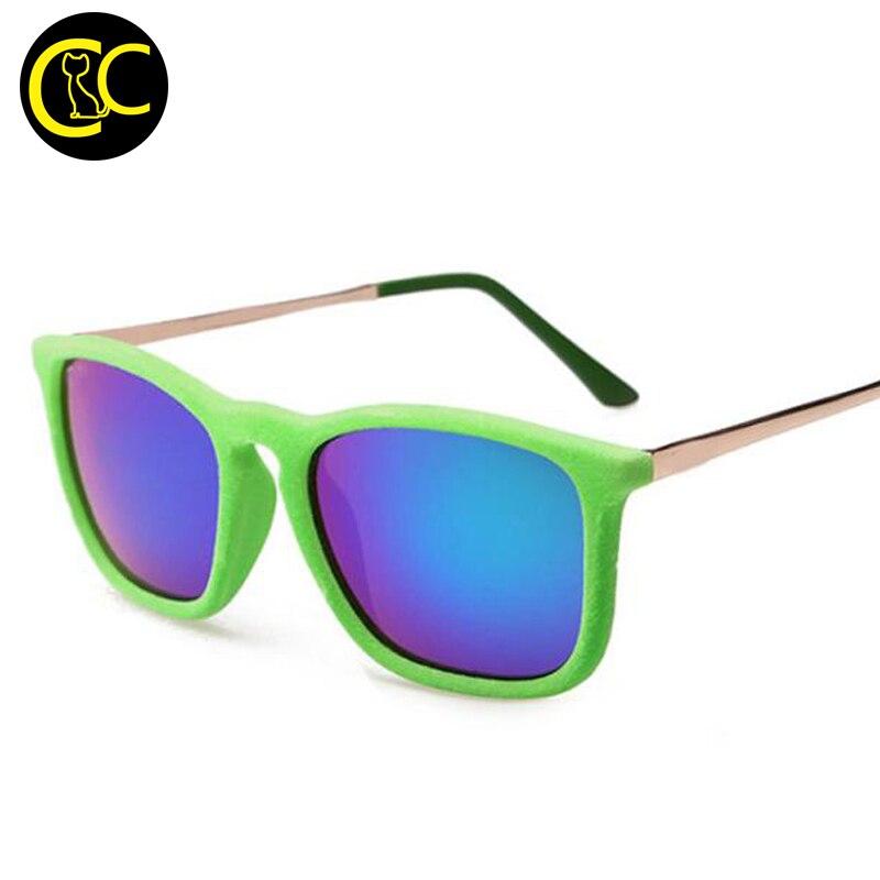 1967fae98bb Fashion Chris Velvet Frame Sunglasses Women Brand Designer Winter ...