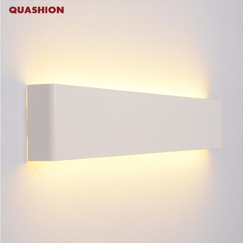 Modern Led Aluminum Wall Lamp Bathroom Mirror Lights Sconce Bedroom Livingroom Luminaire Lamparas De Pared Lighting Fixture