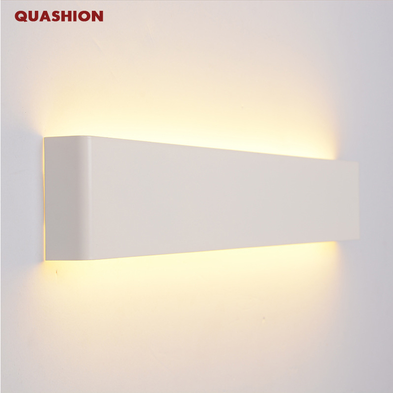 moderno led lmpara de pared de aluminio luces de espejo de bao lmpara de pared saln