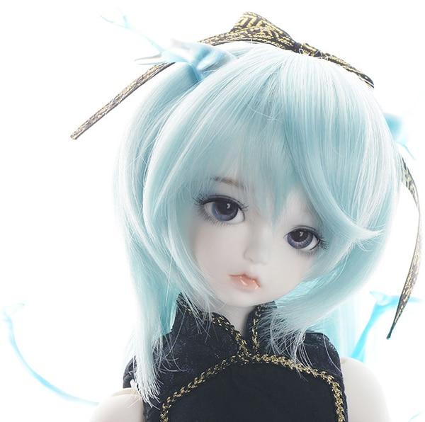 Free Shipping BJD SD doll doll 1/4 SOOM Koori & Yuki Ice Elves Ice Dragon Elf Doll Animal version