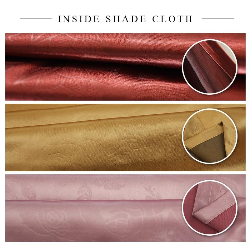 Yataq otağının pərdələri oturma otağı üçün lüks - Ev tekstil - Fotoqrafiya 5