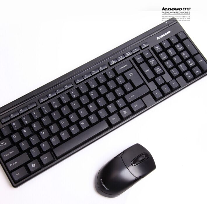 lenovo km4905 wireless keyboard and optical mouse combo set for desktop pc in keyboards from. Black Bedroom Furniture Sets. Home Design Ideas
