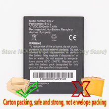 GND 2000mAh/7.4Wh B10-2 Replacement Battery For Caterpillar CAT B15 B15Q B15Q AM smartphone Li-ion bateria Li-Polymer Batterie(China)
