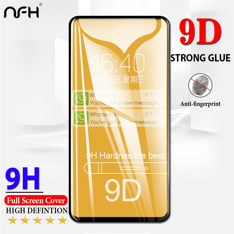 9D Glass For Redmi K20 Pro Note 7 9 D Full Covered Glass For Xiaomi Redmi Note 7 6 Pro K20 Pro Film On Mi 9t 9T Pro Screen Cover