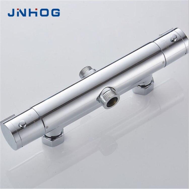 Mitigeur de douche thermostatique 38 degrés Celsius robinet en cuivre bobine en céramique contrôle de température intelligent