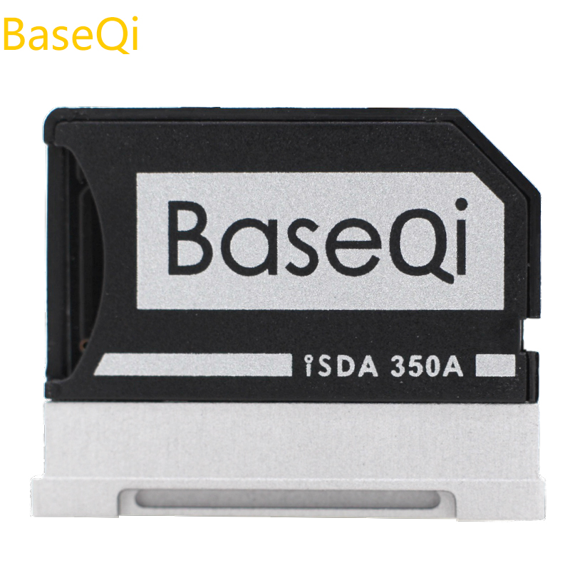 цена Original BaseQi Aluminum Micro SD Adapter For Microsoft Surface Book 13'' and Surface Book 2 13''