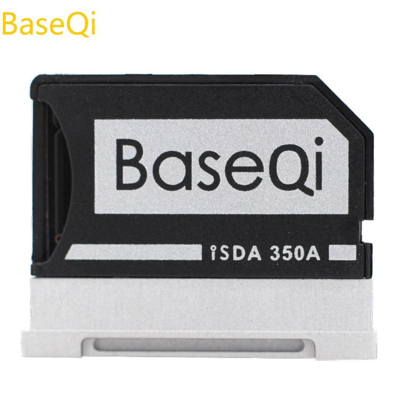 Original BaseQi de aluminio Micro SD adaptador para superficie de Microsoft libro 13 y superficie Libro 2 13
