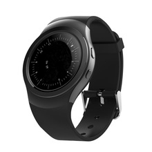 Smartwatch MTK2502 Rotating Bezel 1.3inch Full Round Screen Bluetooth Smart Watch With PixArt 2nd-Generation Heart Rate Monitor