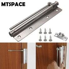 MTSPACE 1 набор, нержавеющая сталь, регулируемая поверхность, монтируется на автоматическом закрывании, Дверной доводчик, противопожарная дверная фурнитура, полностью регулируемая