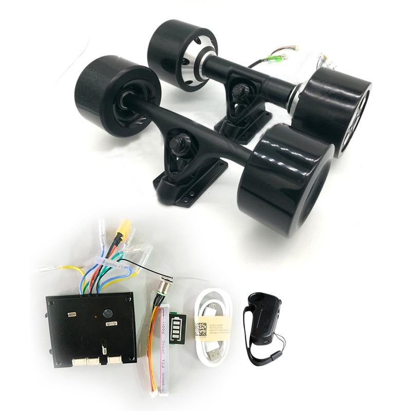 Dual Drive 70mm 83mm 90mm 180W 250W 350W Electric Skateboard Hub Motor 8inch Truck Dual Drive Electric Skateboard Motor