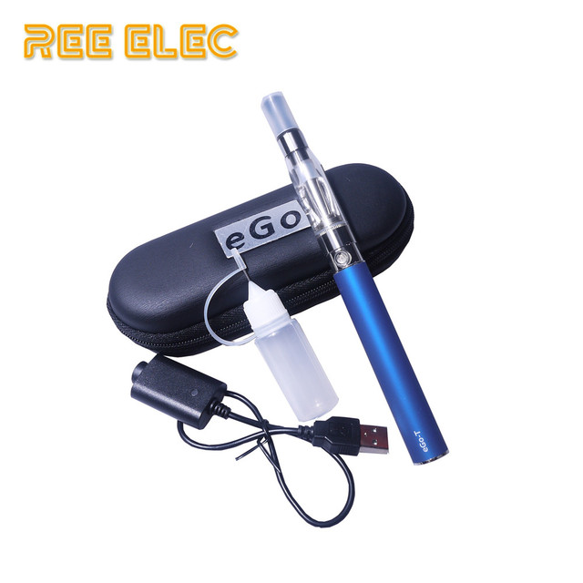 , REE ELEC Electronic Hookah Pen Ego Battery Ce4 Atomizer Starter Kit Portable Vape Pen 1100mAh 1.6ml Electronic Cigarette Ego