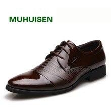 2017 человек Официальная обувь, EJ8858 круглый носок Бизнес натуральная кожа мужские кожа мужчины на шнурках Свадебные оксфорды Туфли под платье, бесплатная доставка