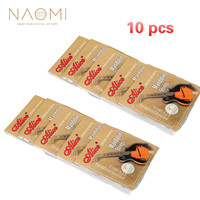 NAOMI 10 SETS Alice AM04 Mandolin Strings Plated Steel & Coated Copper Wound Strings Guitar Family Instruments