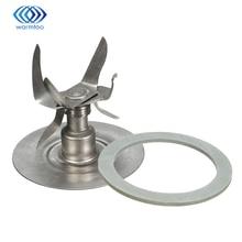 Прочный качество серебряный Нержавеющаясталь 304 Ice-дробления лезвия шесть точка блендер + уплотнительное кольцо прокладка Запчасти для Остер