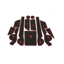Non-slip Interior pad door mat Cup mat car sticker Fit For KIA K5 OPTIMA 2010 2011 2012 2013 2014  13pcs
