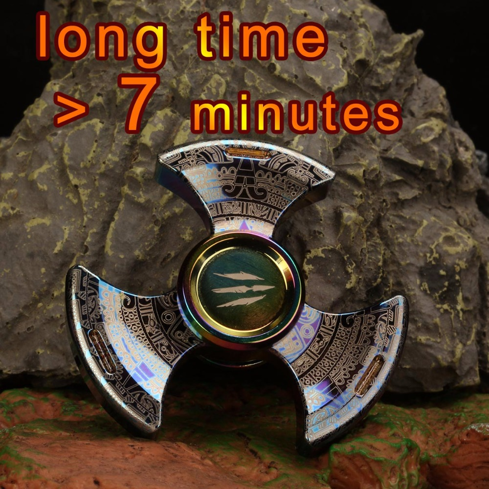 Special Tri Hand Fidget Spinner Metal Adult Spiner Gyro Spinning Top Antistress Relief EDC Beyblade Finger
