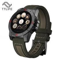 2017 ip67 a prueba de agua smart watch 1.22 ttlife pulgadas monitor del ritmo cardíaco del monitor de sueño al aire libre deportes smartwatch para iphone xiaomi