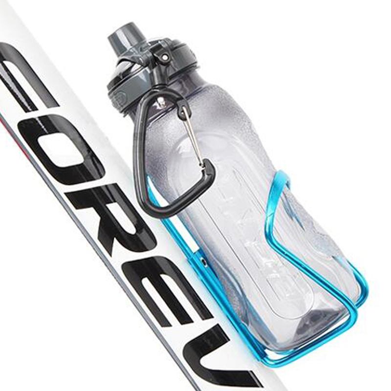 New Aluminum Alloy Bike Bicycle Cycling Drink Water Bottle Rack Holder Cage SEAU