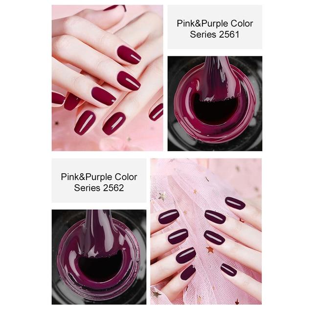 ROSALIND 7ML Nail Polish Gel Varnish Hybrid UV For Manicure Off Gellak White Prime Nail Art gel Extension nail polish 4