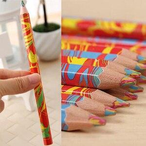 Image 5 - משלוח חינם 20 יח\חבילה מעורב צבעים קשת עיפרון אמנות ציור עפרונות כתיבה סקיצות ילדי גרפיטי ספר עט