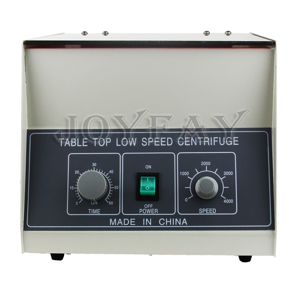 LD-3 Electric Lab Centrifuge laboratory Medical Practice Timer 4000 rpm 50 ml x 6