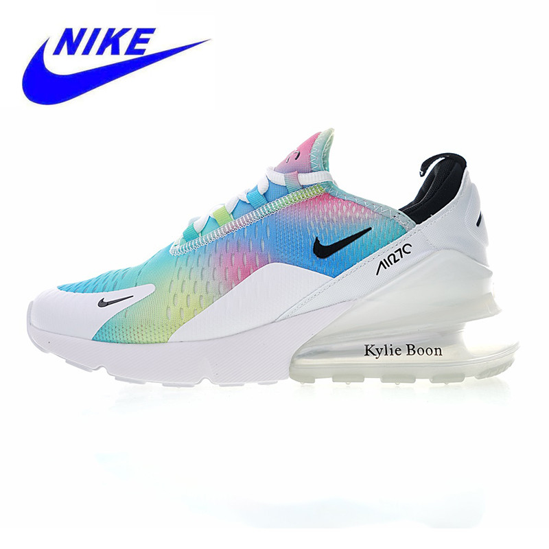 5def3c3cf2 NIKE AIR MAX 270 Women's Running Shoes, White / Pink, Non-slip Wear  Resistance Breathable Lightweight AH6789 700 AH6789 600