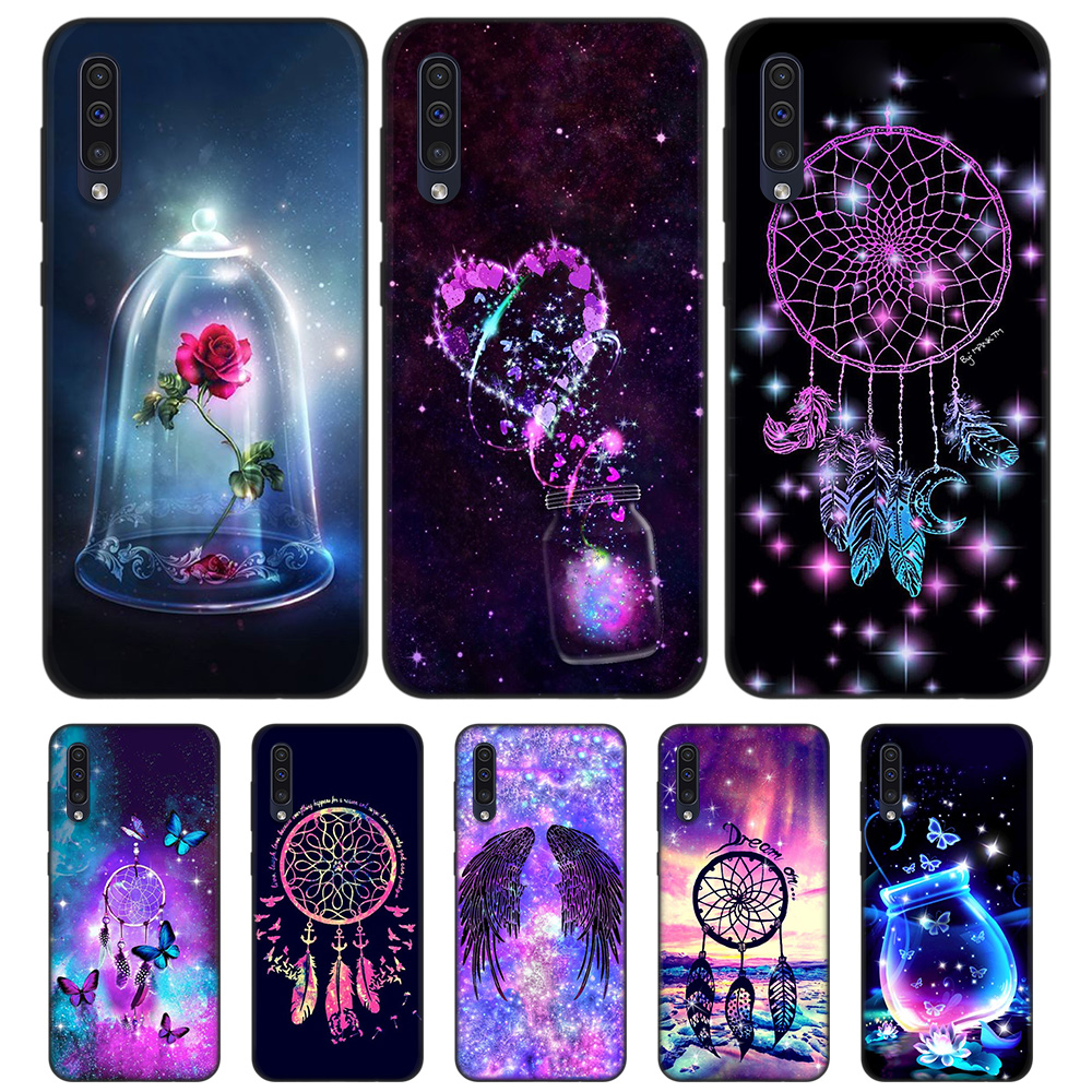 Dream Catcher TPU Silicone Case for <font><b>Samsung</b></font> Galaxy A7 A9 2018 <font><b>A10</b></font> A20 A30 A40 A50 A60 A70 A80 A20E A90 5G Note 10 M40 Back Shell image