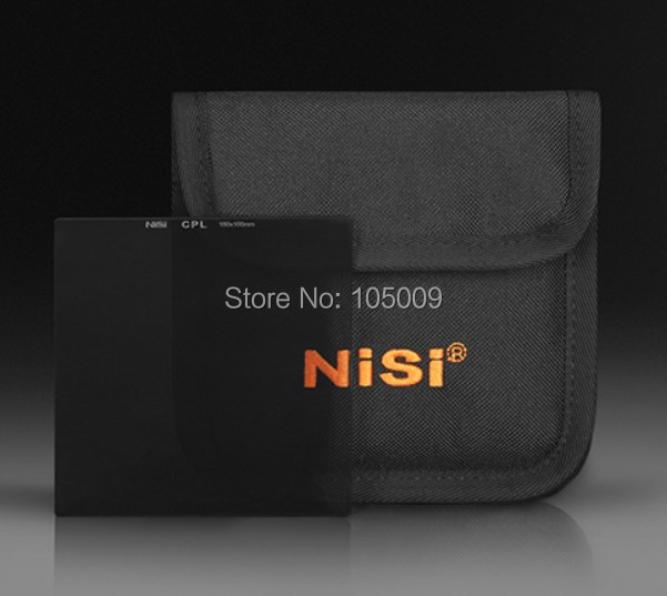 NiSi 150*150mm square inserting disk pllarizing HD cpl lens Filter for canon nikon benro 58mm cpl filter shd cpl hd ulca