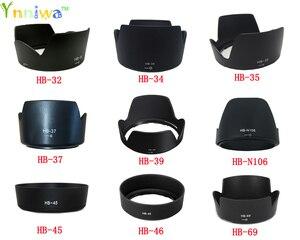 Image 1 - 1 pezzo Per HB 32 HB 34 HB 35 HB 37 HB 39 HB N106 HB 45 HB 46 HB 69 camera Lens Hood per nikon camera lens