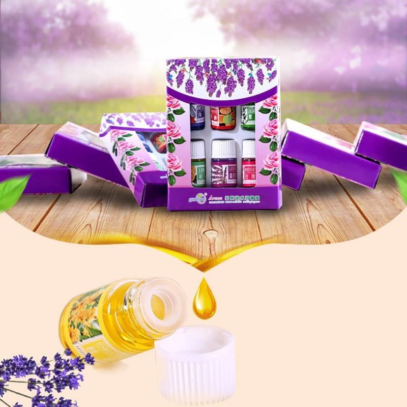 6pcs/set Skin Care Beauty Makeups 100% Pure Essential Oils ...