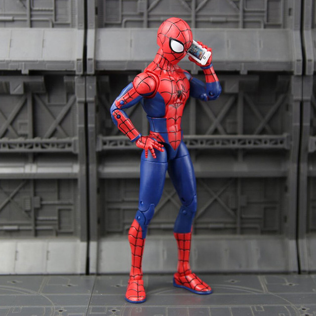 Disney Marvel New Spiderman Christmas Kids Toys 7 Inches