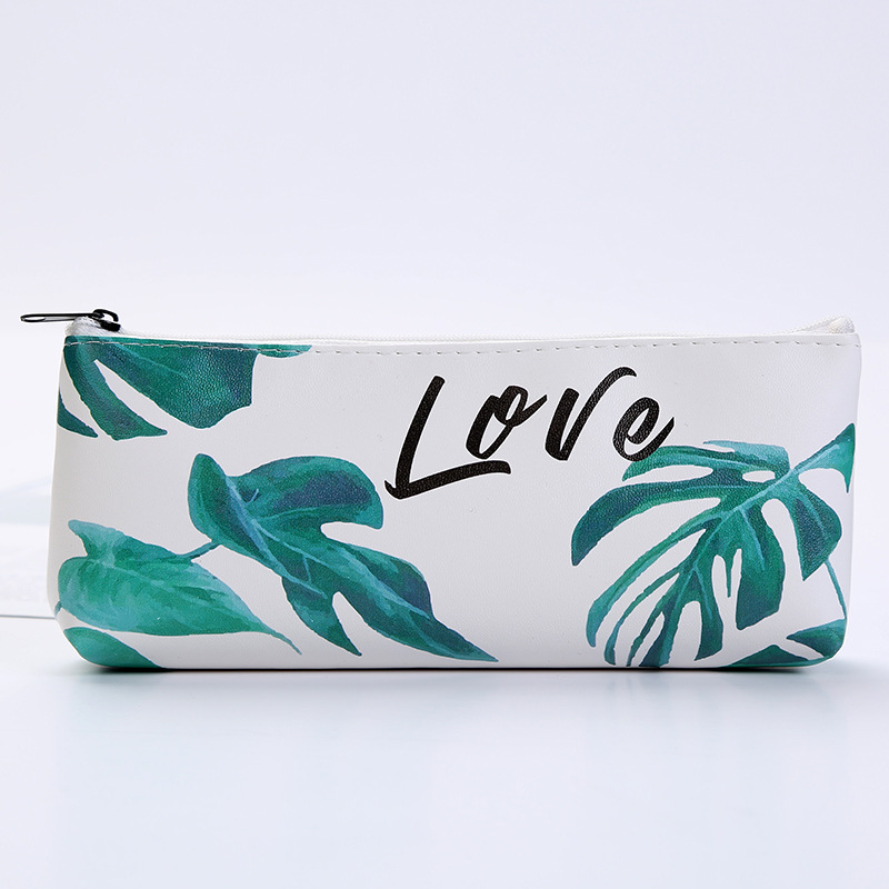 Image 5 - 1pcs/1lot Kawaii Pencil Case Turtle leaf Gift Estuches School Pencil Box Pencilcase Pencil Bag School Supplies Stationery-in Pencil Cases from Office & School Supplies