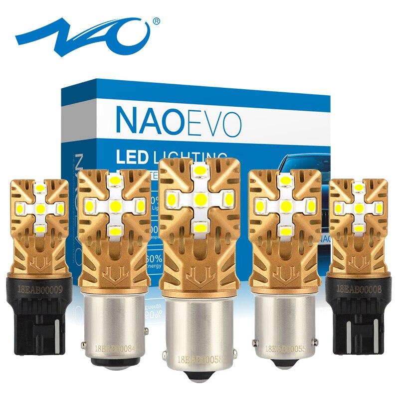 NAO 7440 W21w Led-Lamp T20 7443 P21w Led 1157 Bay15d Car-Ba15s Py21w 24v 1156 P21/5w