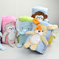 Lovely Cartoon Animal Coral Fleece Baby Blanket 76x102cm Baby Winter Soft Warm Soft Children Kids Home Sleeping Banket