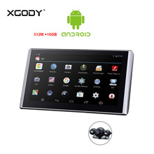 цена на Xgody Android 7'' Dash Camera Gps Navigation 512M + 16GB Car Navigator Dvrs With Wifi HD 1080p Video Recorder Fm AVIN Dashcam