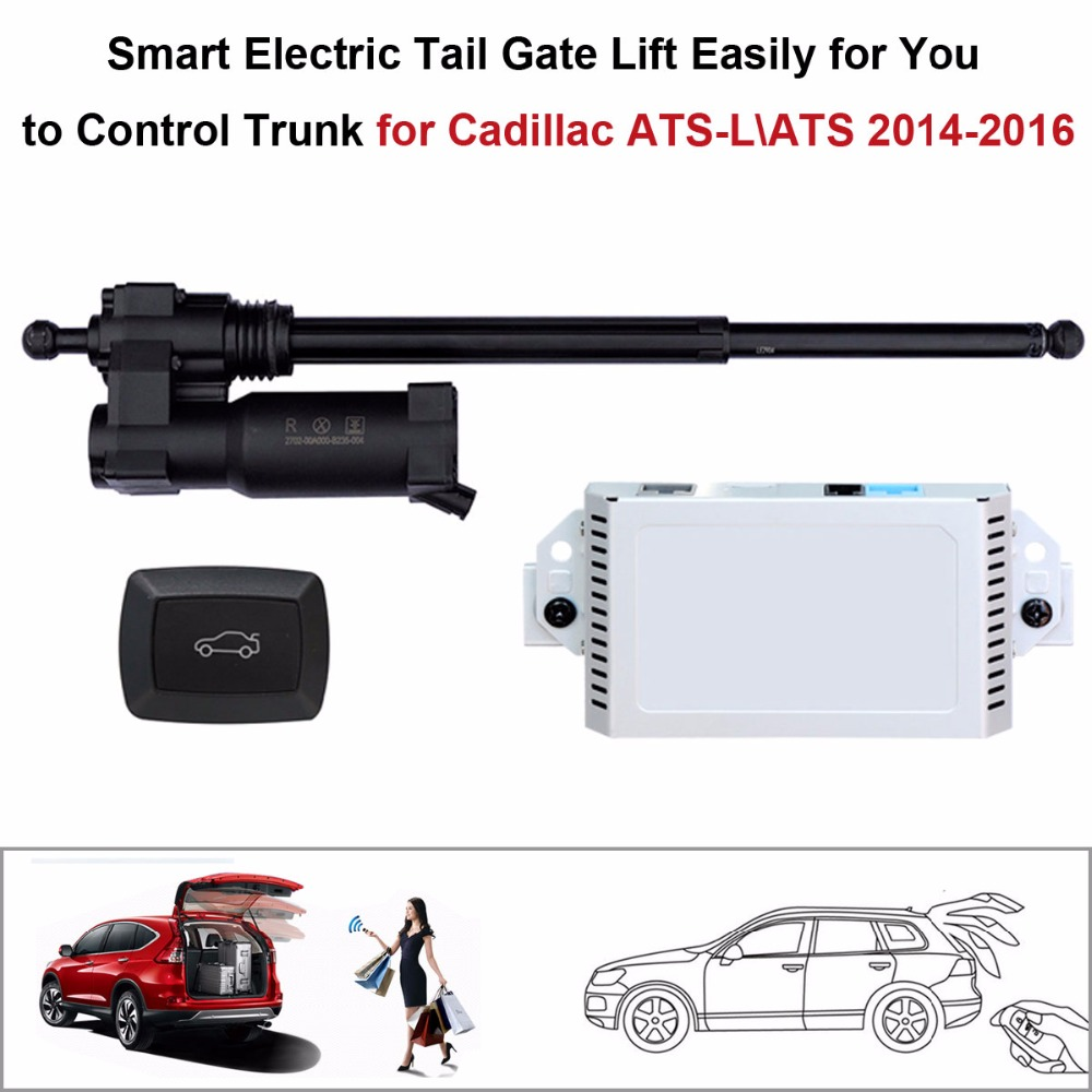 Smart Auto Electric Tail Gate Lift For Cadillac ATS-L\ATS 2014-2016 Control Set Height Avoid Pinch