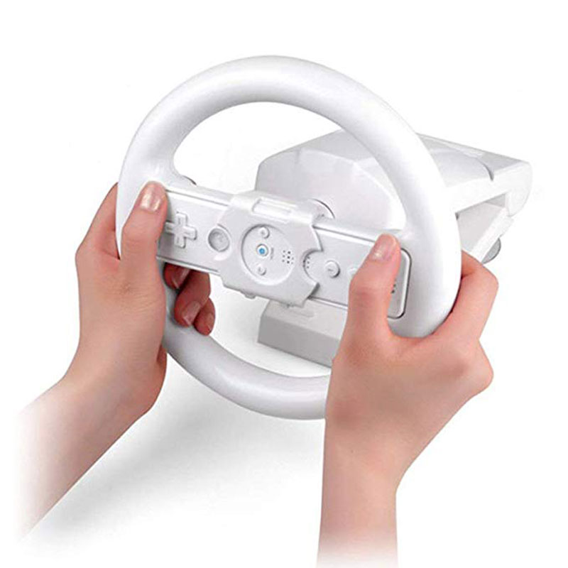 For Nintend Wii Console Controller Racing Game Steering Wheel Stand Base Multi-angle Gamepad Accessorice